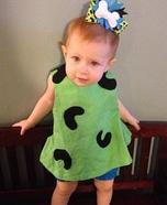DIY Pebbles Baby Costume Idea