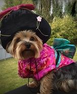 Pebbles in her Kimono Costume