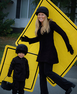 Pedestrian Crosswalkers Homemade Costume