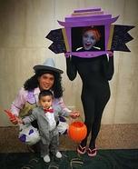 Pee-wee's Playhouse Family Homemade Costume