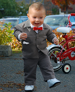 Cute baby costume ideas: Pee-Wee Herman Homemade Costume