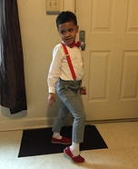 Pee Wee Herman Homemade Costume