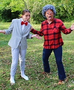 Peewee Herman & Large Marge Homemade Costume