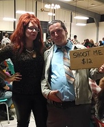 Peg and Al Bundy Couple Homemade Costume