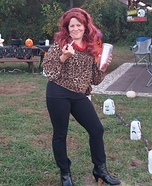 Peg Bundy Homemade Costume