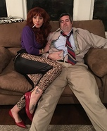 Peggy and Al Bundy Homemade Costume
