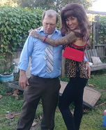 Peggy and Al Bundy Married with Children Homemade Costume