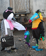 DIY Penguin and Toucan Costumes