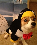 Penguin Puppy Costume
