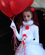 Pennywise and Baby Georgie Homemade Costume