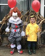Pennywise and Georgie Homemade Costume