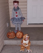 Pennywise and Kangaroo Homemade Costume