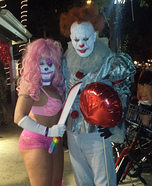 Pennywise and Pinky Homemade Costume