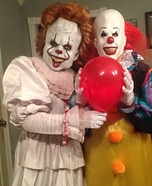 Pennywise Couple Homemade Costume