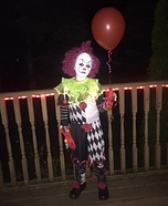 Pennywise - from the Movie I.T. Homemade Costume