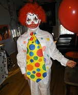 Pennywise the Clown Halloween Costume for Boys