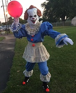 Pennywise the Clown Homemade Costume