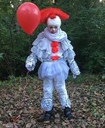 Pennywise the Dancing Clown Homemade Costume