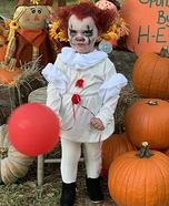 Pennywise Toddler Homemade Costume