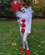 Pennywise's Sweetie Homemade Costume