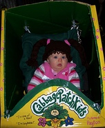 Perfect Cabbage Patch Baby Homemade Costume