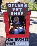 DIY baby costume ideas: Pet Shop Baby Costume