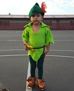 Peter Pan Homemade Costume