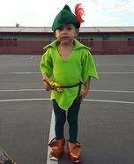 Peter Pan Homemade Costume