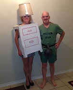 Peter Pan and his One Night Stand Homemade Costume