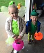 Peter Pan and Tink Homemade Costume