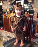 Peter Pan Baby Homemade Costume