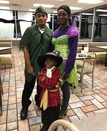 Peter Pan Characters Homemade Costume