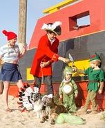 Peter Pan Family Homemade Costume