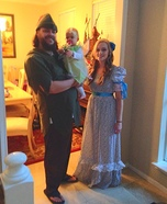 Peter Pan Family Homemade Costume
