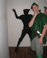 Peter Pan's Shadow Homemade Costume