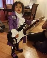 Petite Purple Rain Prince Homemade Costume