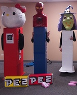 Pez Candy Homemade Costume