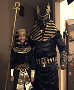 Pharaoh and Anubis Costume