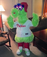 Phillie Phanatic Homemade Costume