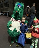 Philly Phanatic Homemade Costume