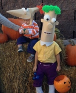 Phineas and Ferb Homemade Costumes