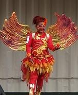 Phoenix Homemade Costume