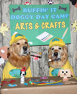 Phoenix and Gryphon Go to Arts and Crafts Camp Homemade Costume