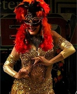 Phoenix Rising Homemade Costume