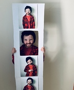 Photo Booth Strip Homemade Costume