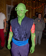 Piccolo from Dragon Ball Z Homemade Costume