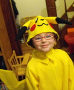 Pickachu Homemade Costume