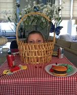 Homemade Picnic Table Costume