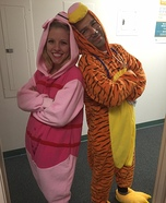 Pigglet & Tiger Costume