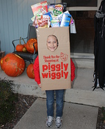 Homemade Grocery Bag Costume